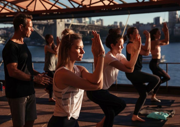 You Can Now Do Sunrise Yoga At The Opera House