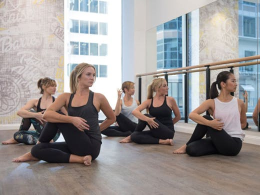 yoga studio in Sydney YogaBar