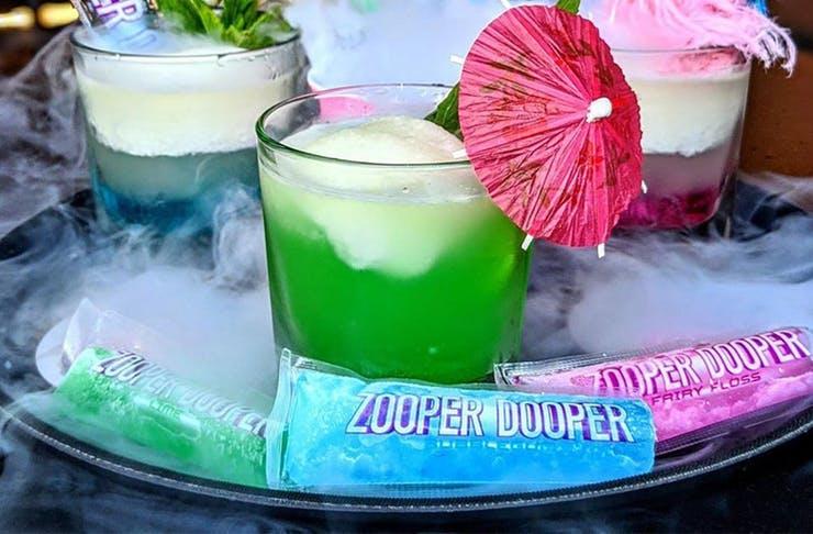 zooper dooper cocktails