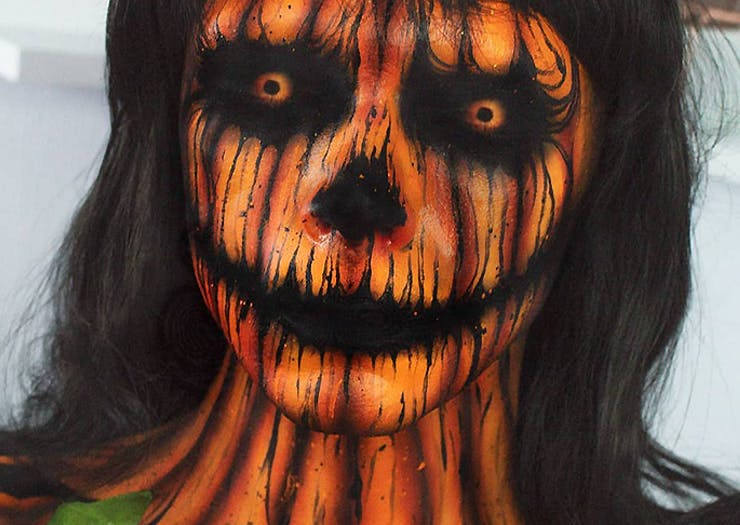 Cue The Horror, This Halloween Make Up Inspo Is The Stuff Of Nightmares