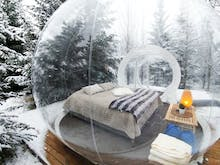 Guys, You Can Now Sleep Under The Northern Lights In An Inflatable Bubble!