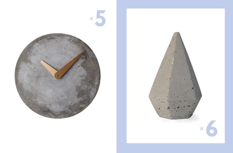 how to make concrete homewares
