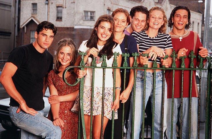 The cast of Heartbreak High