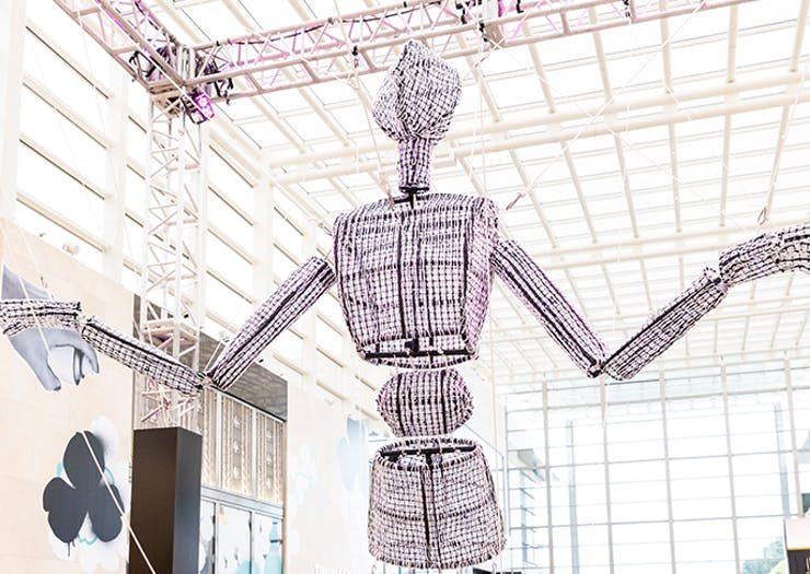 'Gram At The Ready | This Giant Puppet Has Hit Melbourne