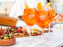 Get Spritzed | Dedicated Aperol Bars Are Back This Summer