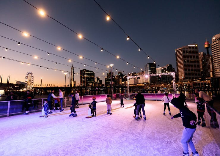 Where To Go Ice Skating In Sydney This Winter