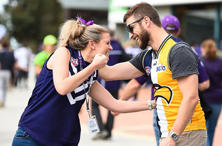 West Coast Eagles Fans AFL Grand Final 2015