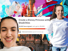 Disney's First Princess With A Disability Could Be On The Horizon, Here's How You Can Help