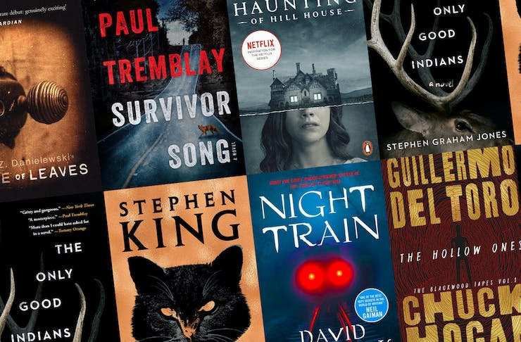 collage of the best horror books