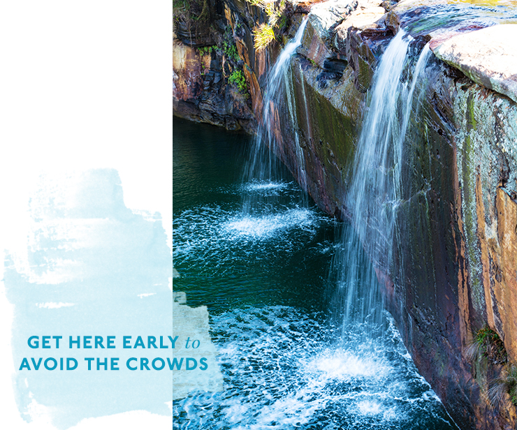 The Best Waterfalls To Swim Under In Sydney Urban List Sydney