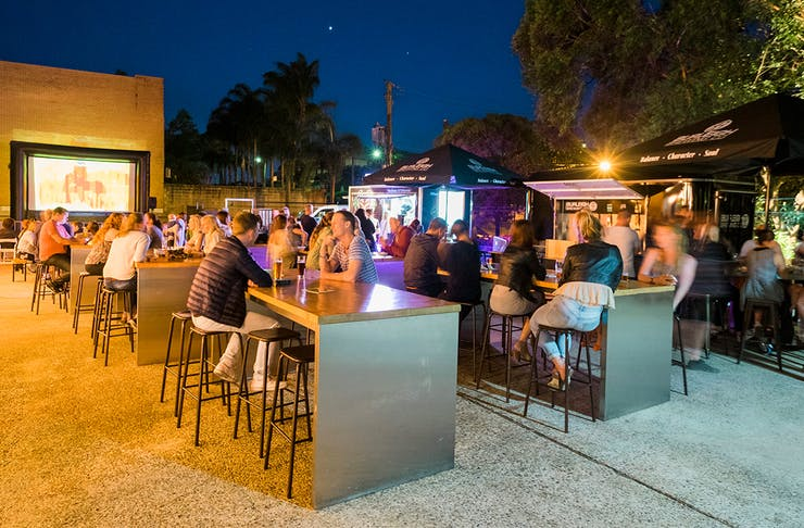 Burleigh Brewing Co Outdoor Cinema