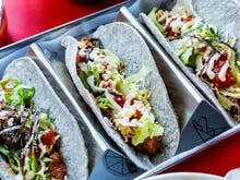 Pack Yourself Silly With Japanese Tex-Mex Tacos At This Surf Club
