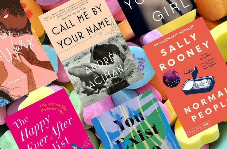 collage of best romance novels for 2020