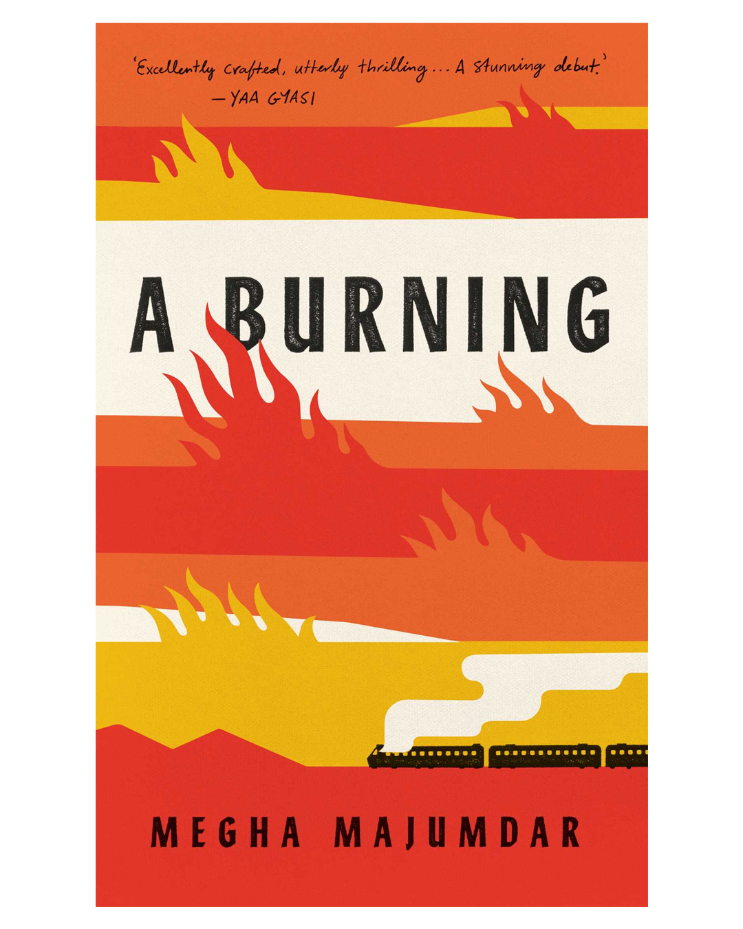 book that reads a burning