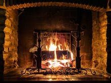 7 Sweet Spots You Can Sip Wine By A Fireplace