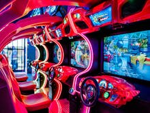 Gear Up, An 80s-Inspired Gaming Arcade Has Opened On The Coast