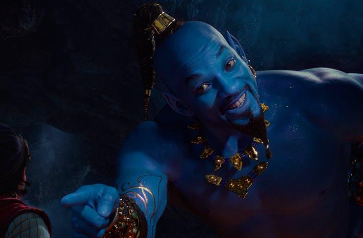 Watch Will Smith As The Blue Genie In Disney's Latest Aladdin Trailer