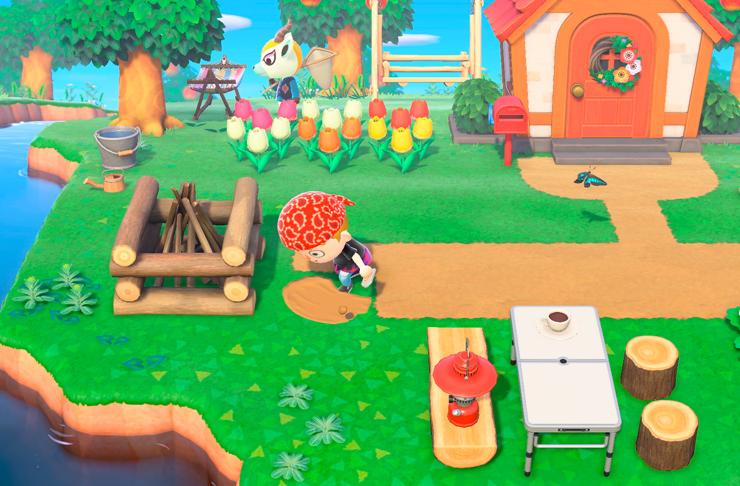 animated game on a farm