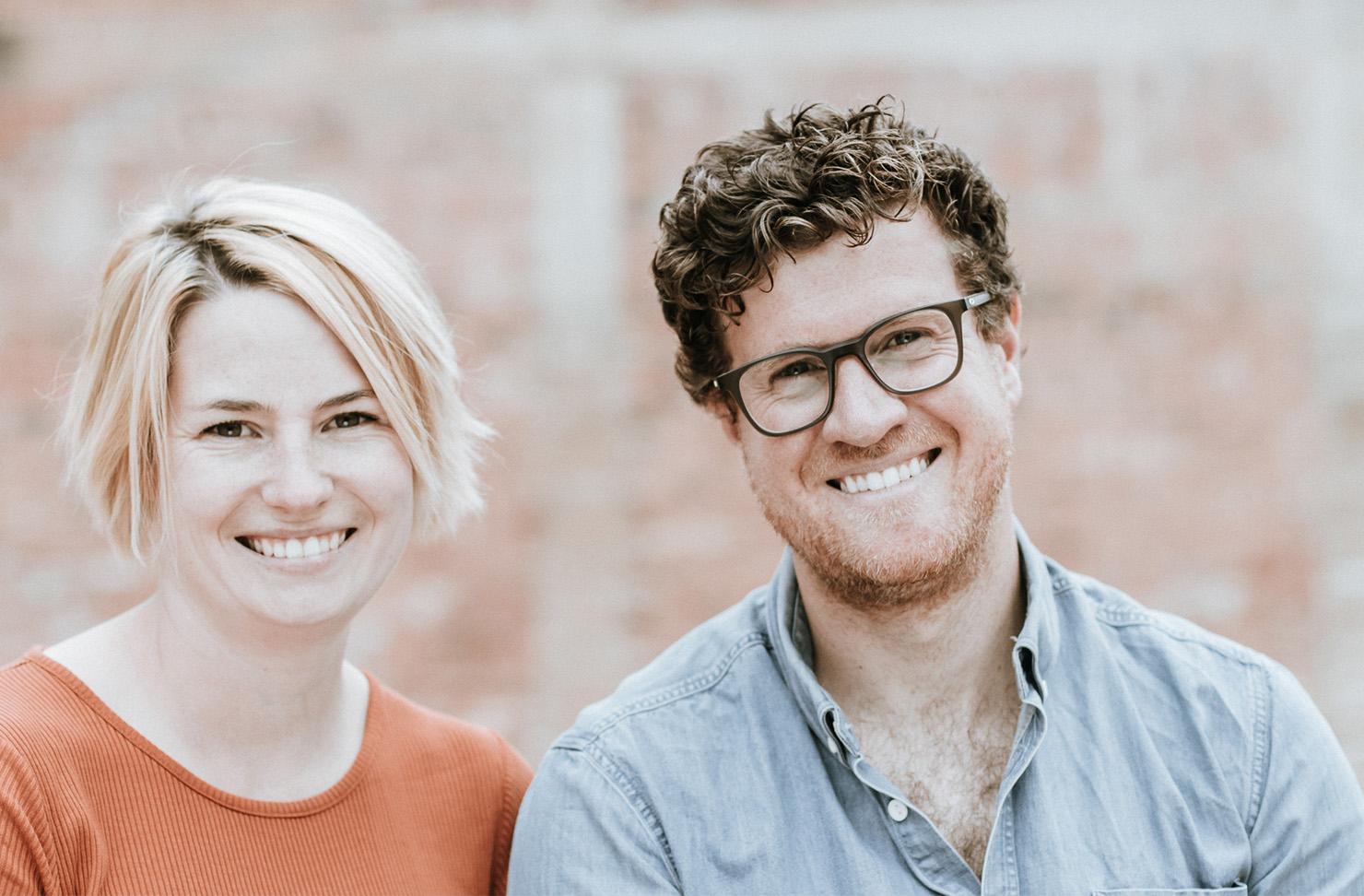 Applewood founders Brendan and Laura Carter