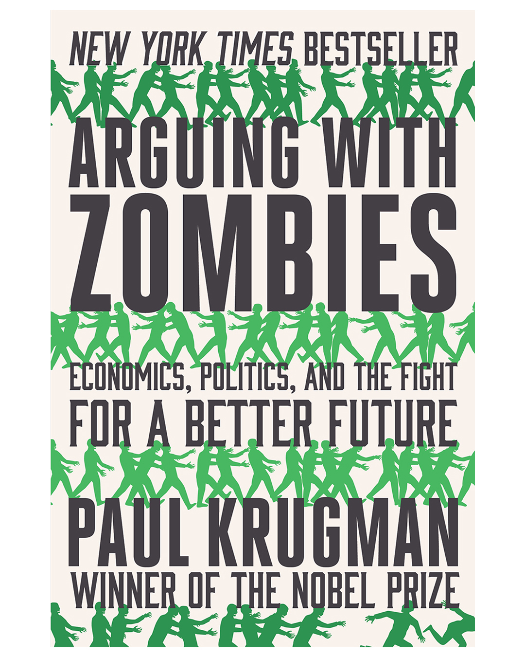 book cover that reads arguing with zombies