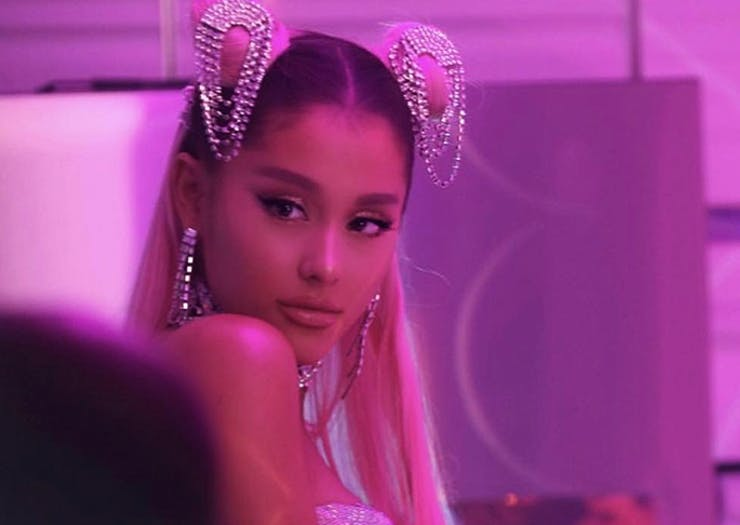 Everything Right With Ariana Grande's New Neon-Soaked Music Video
