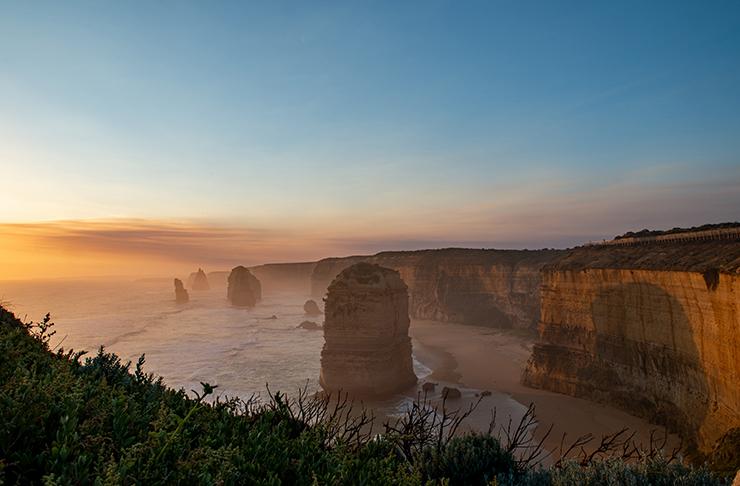 stunning 12 apostles at sunset