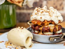 Sweeten Up Your Morning With This Breakfast Banoffee Pie Waffle
