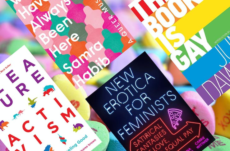 collage of the best sex books to read