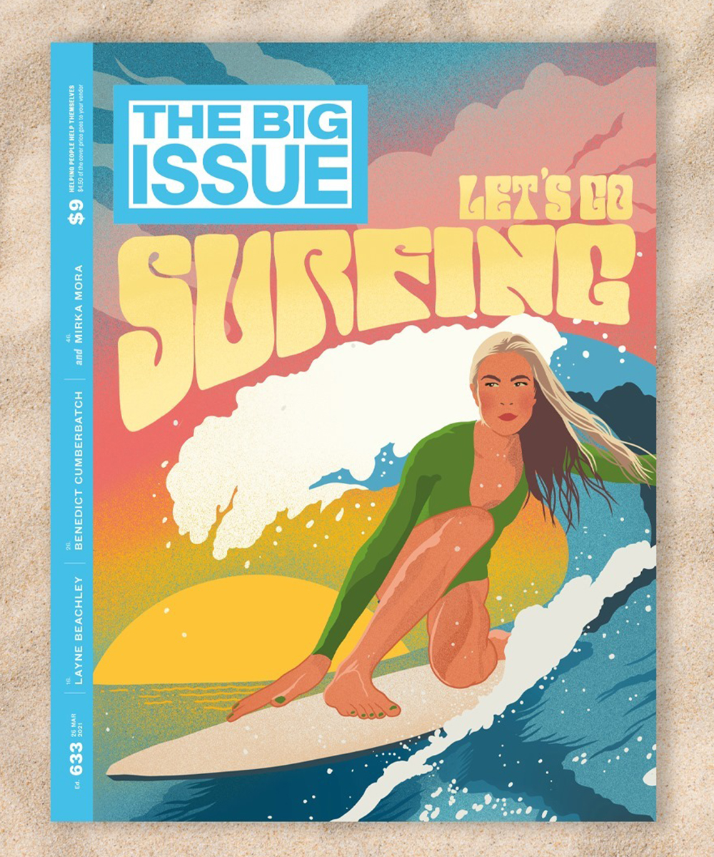 cover of an issue of The Big Issue