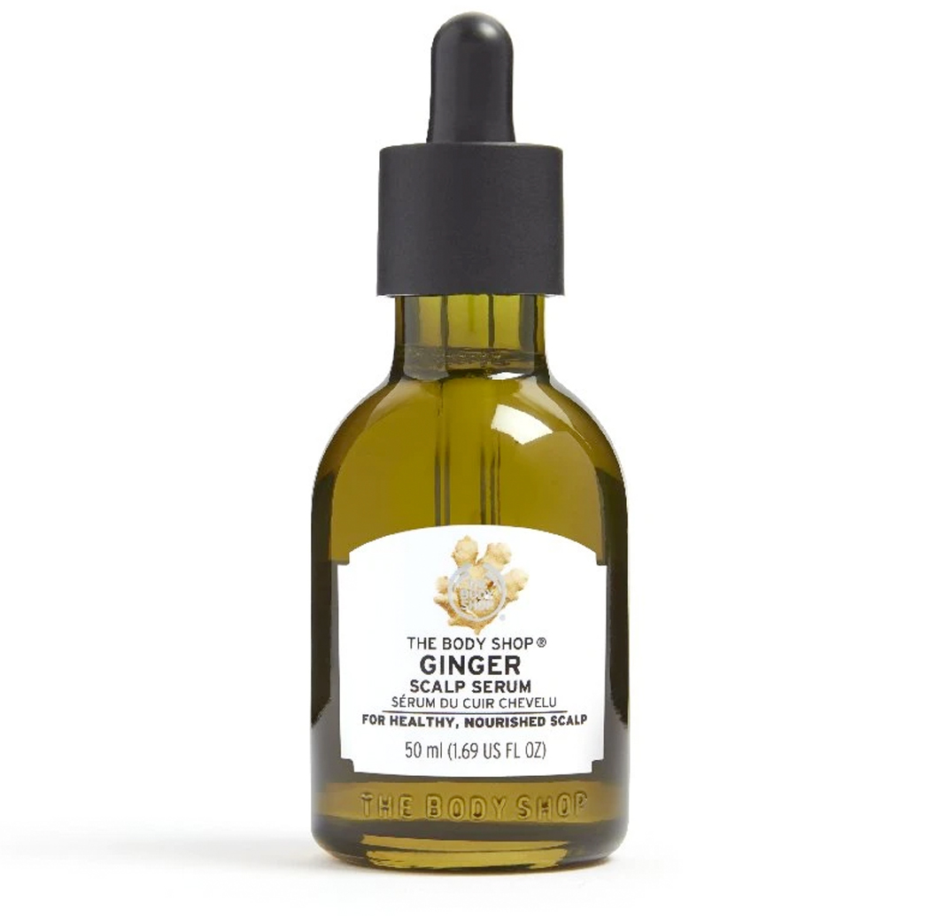 body shop ginger oil
