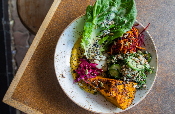 health bowl with veggies