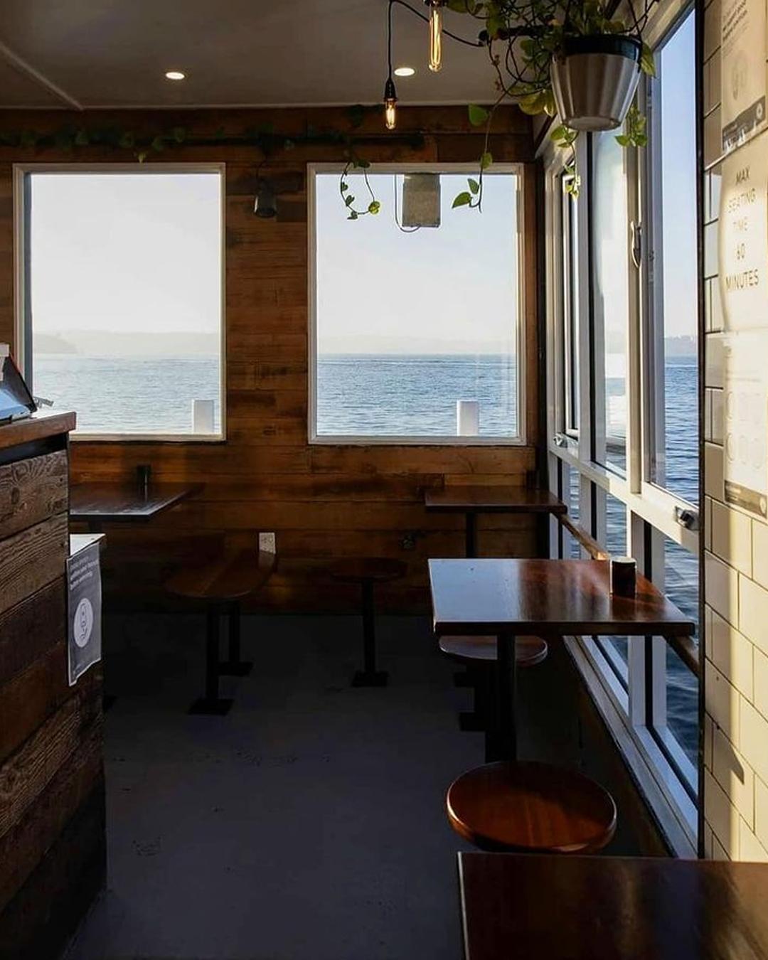 cafe overlooking sydney harbour