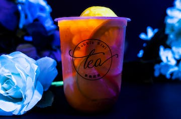 Glow In The Dark Bubble Tea Exists, Here's Where You Can Sip It This Month