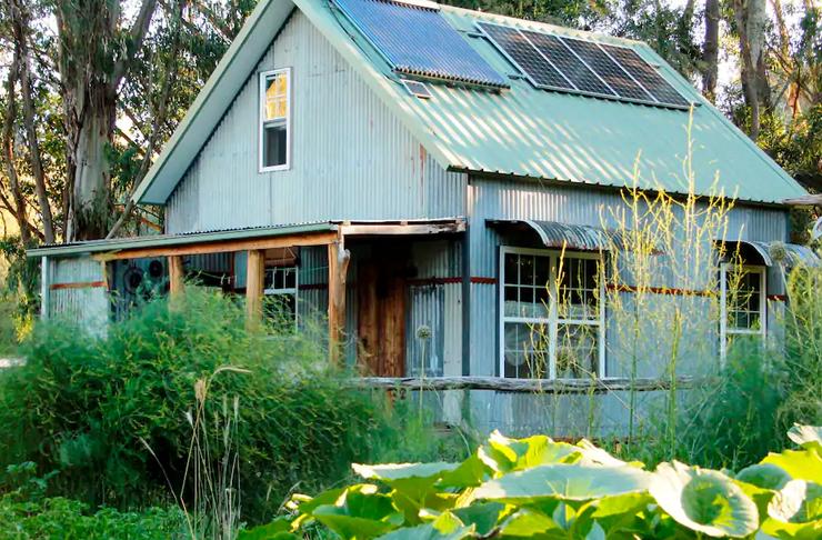 tin house on farm