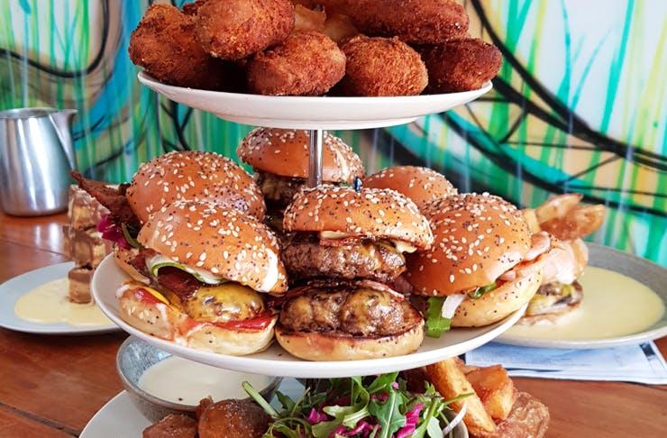 burger-high-tea-sydney