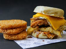 Butter Just Dropped A Jumbo Egg Muffin Loaded With Salted Chilli Mayo