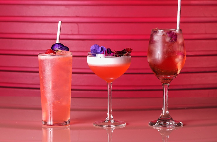 cherry blossom inspired cocktails