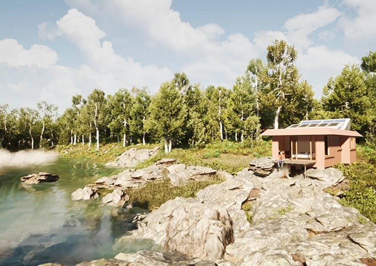 Order Up Beehives And Mineral Pools, These Low-Cost Eco Homes Are Changing The Housing Game