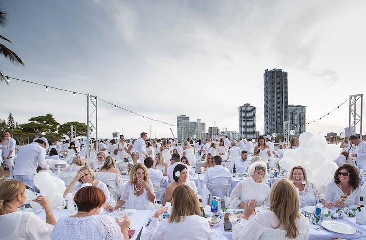 Diner En Blanc secret picnic