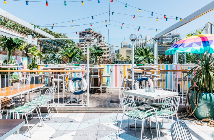 rooftop dining at the east village sydney
