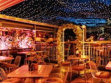Down Mulled Wine And Fondue At This European Rooftop Winter Garden