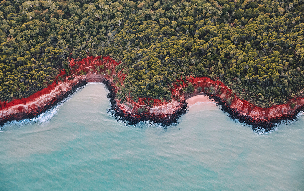 a view from above Tiwi Islands