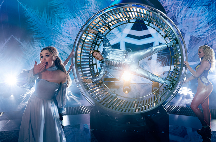 hamster wheel reference in eurovision song contest movie with will ferrell and rachel mcadams
