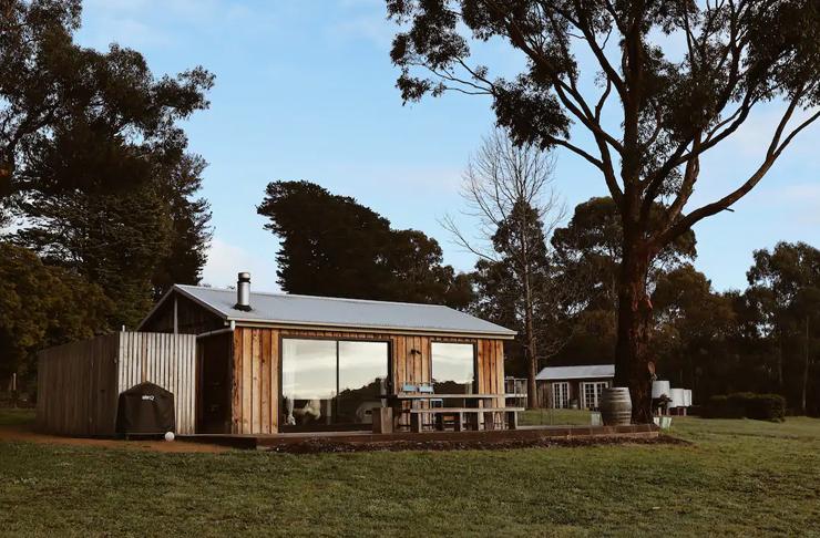 rustic farm style property