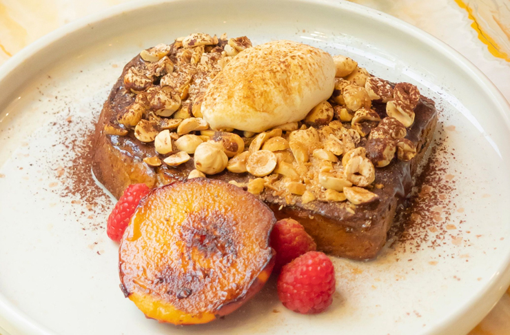 the mayflowers new spring dish ferrer roche french toast