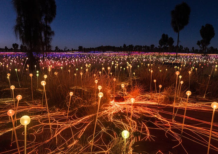 Hype Up, Uluru's Magical Field Of Light Installation Has Been Extended Indefinitely