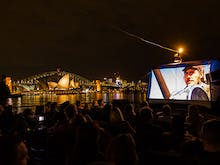 Everything To Know About Sydney's First Floating Harbour Cinema
