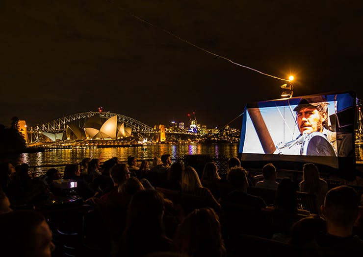 Cue Summer, Sydney's Floating Harbour Cinema Is Back