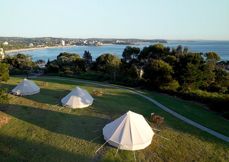 Book A Stay At Bedouin On The Beaches, Sydney's New Pop-Up Glamping Site