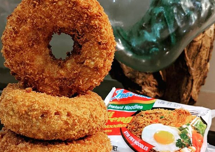 Goreng Is Sydney's New Secret Takeaway Making Fried Mi Goreng Doughnuts
